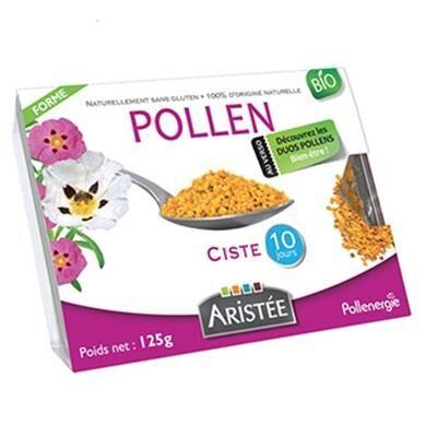Pollenergie Pollen de ciste bio - 125 grammes