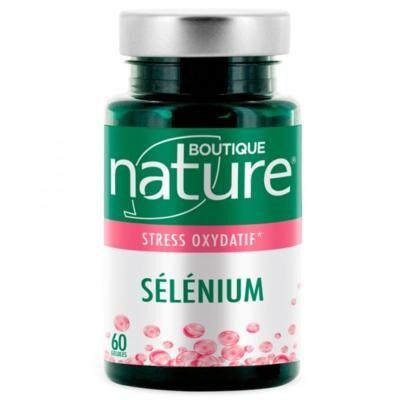 Boutique Nature Sélénium, 60 gélules