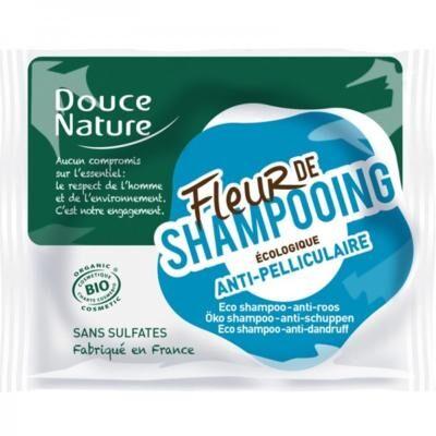 Douce Nature Fleur de shampoing bio anti-pelliculaire