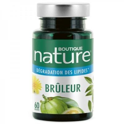 Boutique Nature Brûleur programme, 60 gélules