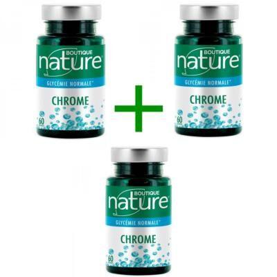 Boutique Nature Chrome, 3 boîtes de 60 gélules