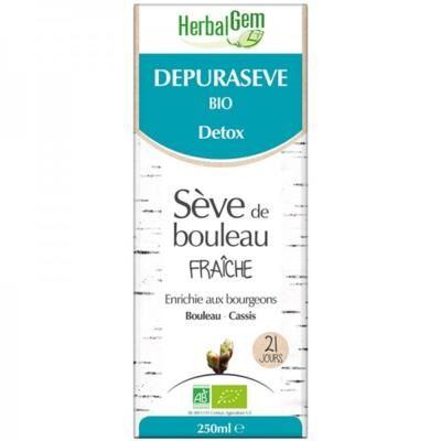Herbalgem Dépurasève bio, sève de bouleau fraîche