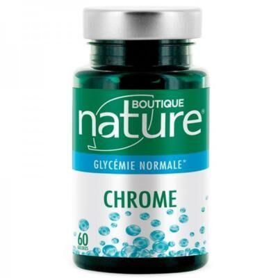 Boutique Nature Chrome, 60 gélules