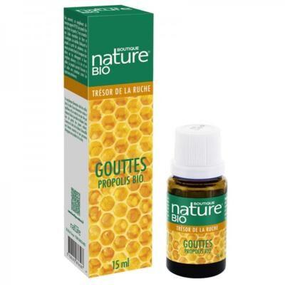 Boutique Nature Propolis bio liquide, 15 ml