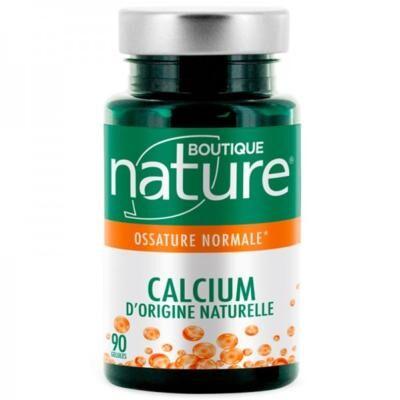 Boutique Nature Calcium d'origine naturelle, 90 gélules