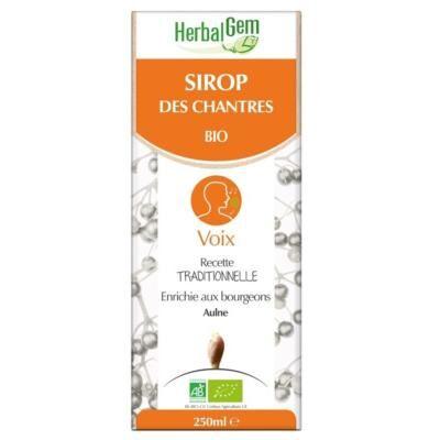 Herbalgem Sirop des chantres bio - 250 ml