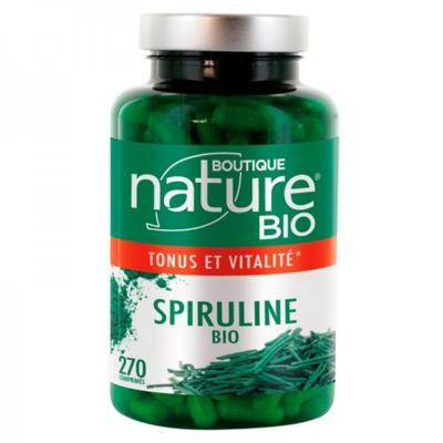 Boutique Nature Spiruline bio, 270 comprimés