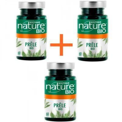 Boutique Nature Prêle bio, 3 boîtes de 60 gélules