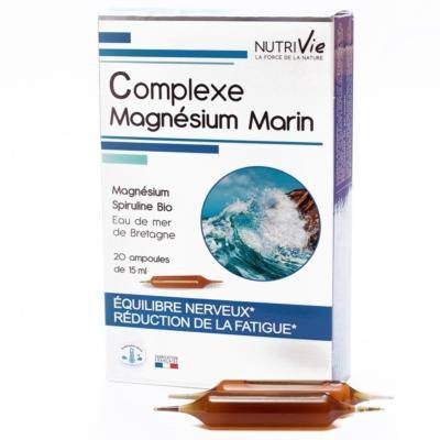 Nutrivie Magnésium marin, 20 ampoules