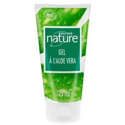 Boutique Nature Gel aloe vera bio, 125 ml