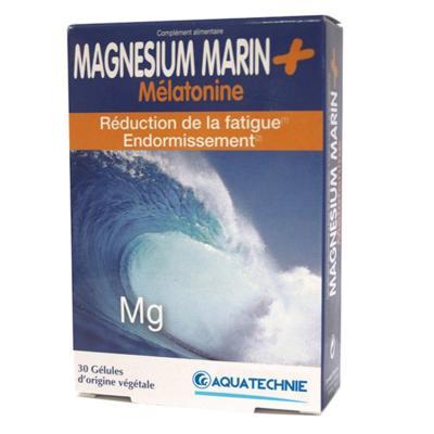 Aquatechnie Magnésium et mélatonine, 30 gélules