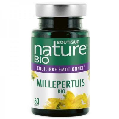 Boutique Nature Millepertuis bio, 60 gélules