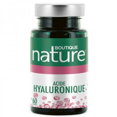 Boutique Nature Acide hyaluronique 150 mg +, 60 gélules