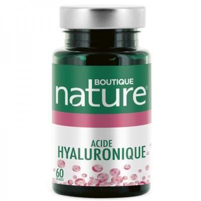 Boutique Nature Acide hyaluronique 150 mg +, 60 gélules