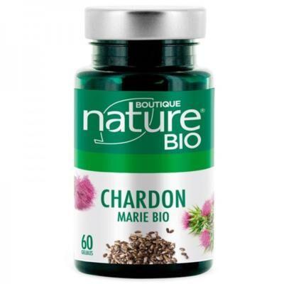Boutique Nature Chardon marie bio, 60 gélules