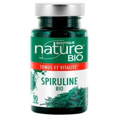 Boutique Nature Spiruline bio, 90 comprimés