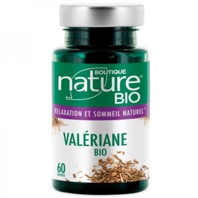 Boutique Nature Valériane bio, 60 gélules