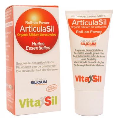 Vitasil Articulasil Roll-on et huiles essentielles, 50 ml