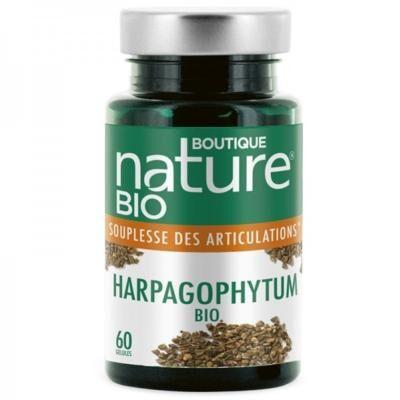 Boutique Nature Harpagophytum BIO, 60 gélules