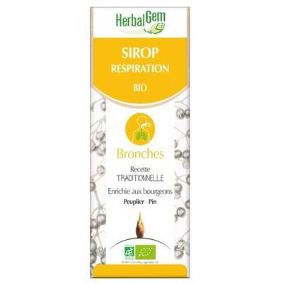 Herbalgem Sirop Respiration bio - 250 ml