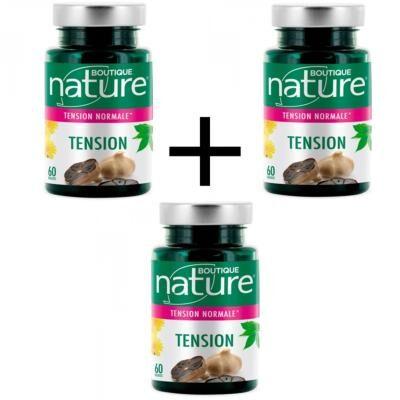 Boutique Nature Tension, lot de 3 boîtes de 60 gélules
