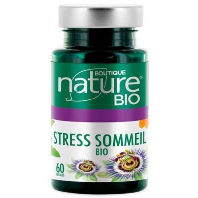 Boutique Nature Sommeil Stress bio, 60 gélules