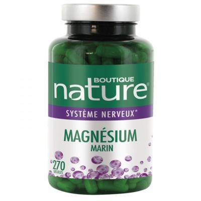 Boutique Nature Magnessium marin B6 et vit C, 270 gélules