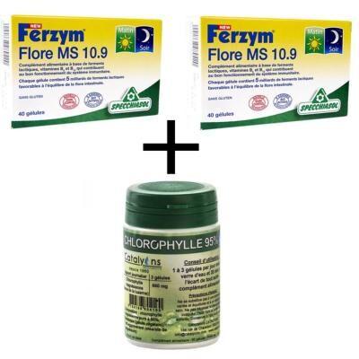 Boutique Nature - Specchiasol 2 Ferzym 10.9 et 1 chlorophylle en gélules