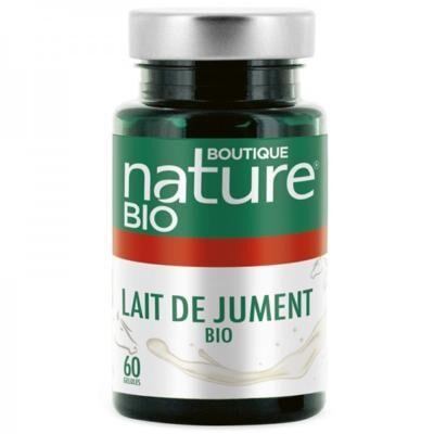 Boutique Nature Lait de jument bio, 60 gélules