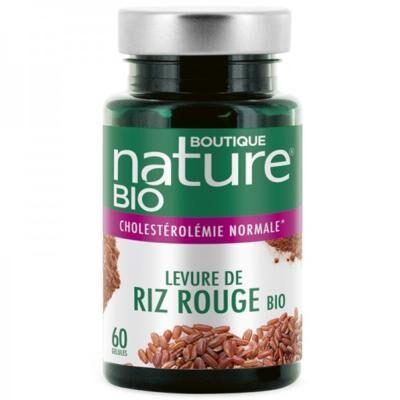 Boutique Nature Levure de riz rouge bio, 60 gélules