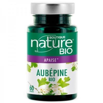 Boutique Nature Aubépine bio, 60 gélules