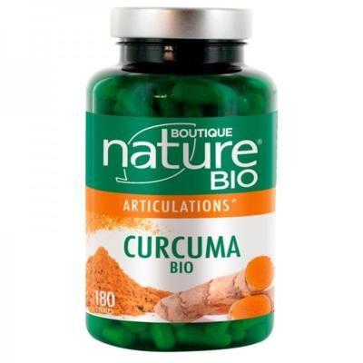 Boutique Nature Curcuma bio + poivre noir bio, 180 gélules