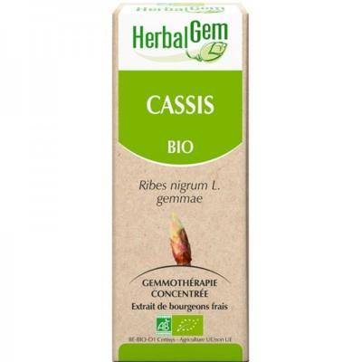 Herbalgem Cassis bio extrait de bourgeons frais - 50 ml