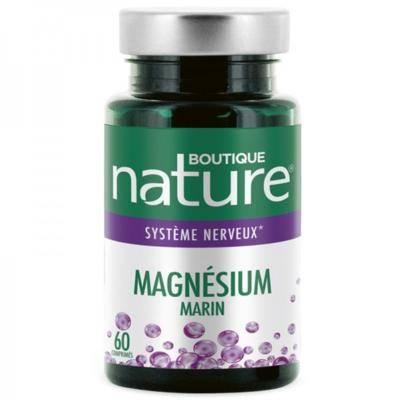 Boutique Nature Magnésium marin, 60 comprimés