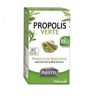 Pollenergie Propolis verte bio, 40 gélules