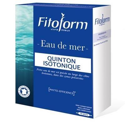 Fitoform Quinton isotonique O Marine, 30 ampoules