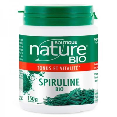Boutique Nature Spiruline bio poudre, 150 gr