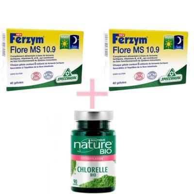 Boutique Nature - Specchiasol 2 Ferzym 10.9 et 1 chlorella bio