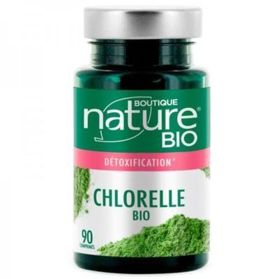Boutique Nature Chlorelle bio, 90 comprimés