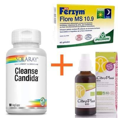 Solaray, Biotechnie, Specchiasol 1 cleanse, 1 Ferzym, 1 pépin pamplemousse