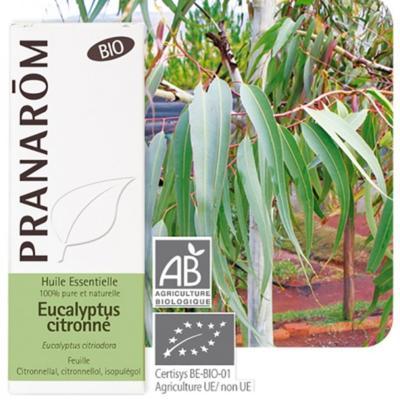 Pranarom Eucalyptus citronné bio huile essentielle, 30 ml
