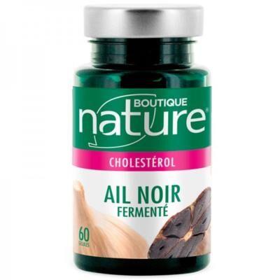 Boutique Nature Ail noir fermenté, 60 gélules