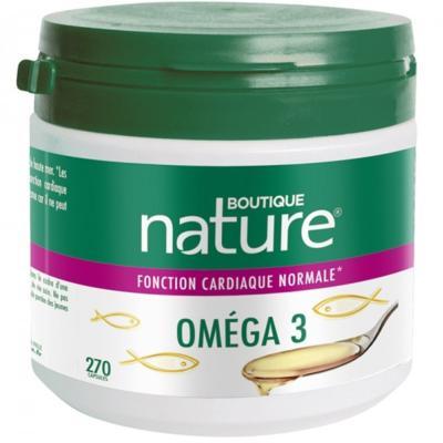 Boutique Nature Oméga 3, 270 capsules, format économique