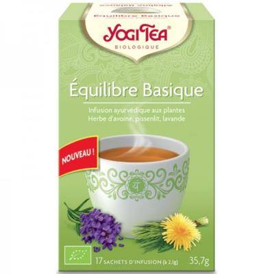 Yogi Tea Equilibre basique bio, 17 sachets