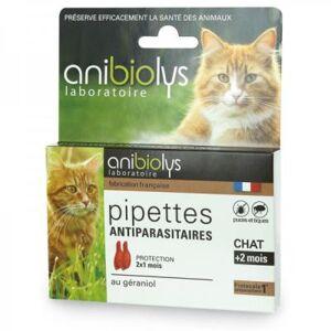 Anibiolys Antiparasitaires chat - 2 pipettes - Publicité