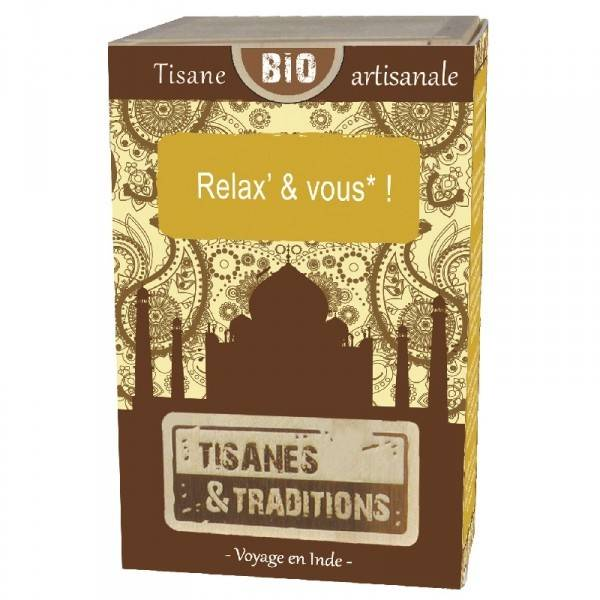 Tisanes Et Traditions Tisane artisanale Relax' & vous1 pièce