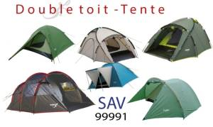 freetime double toit de tentes -sav double toit tentes camping freetime