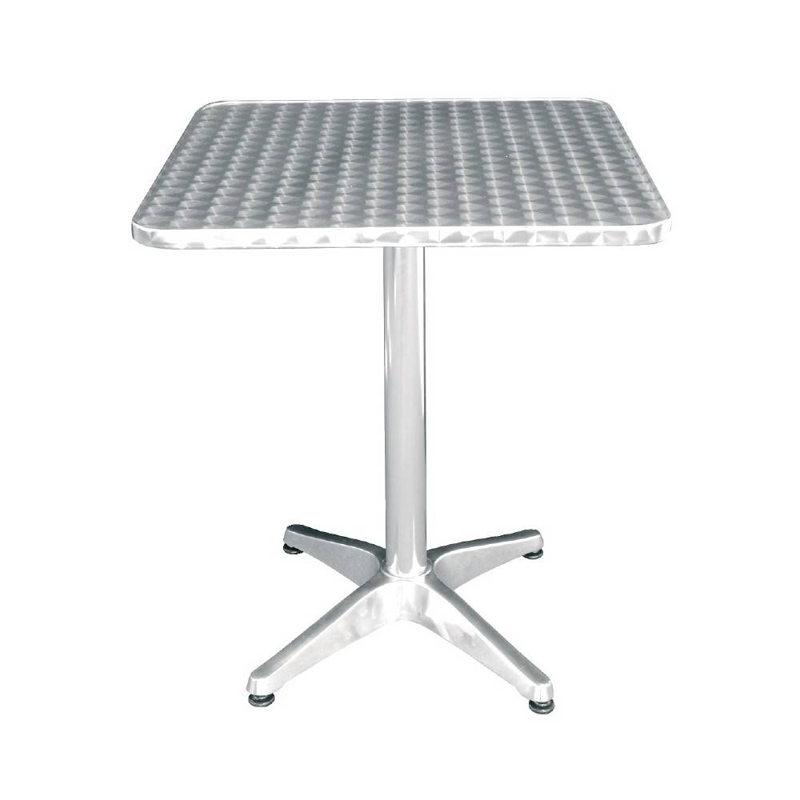 Table carrée Bistro sur pieds