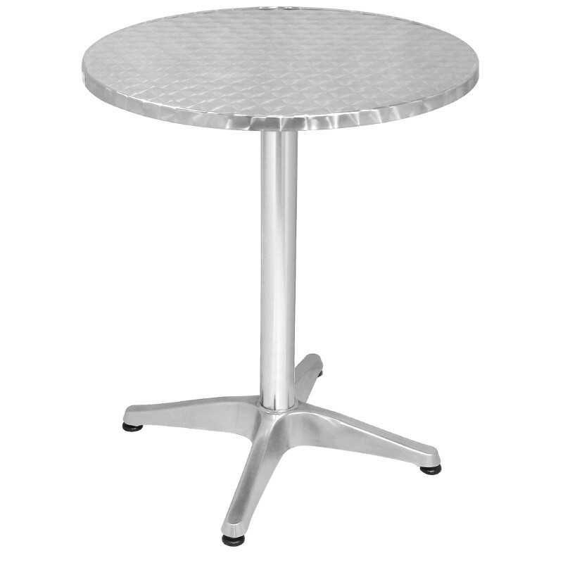 Table ronde Bistro sur pieds