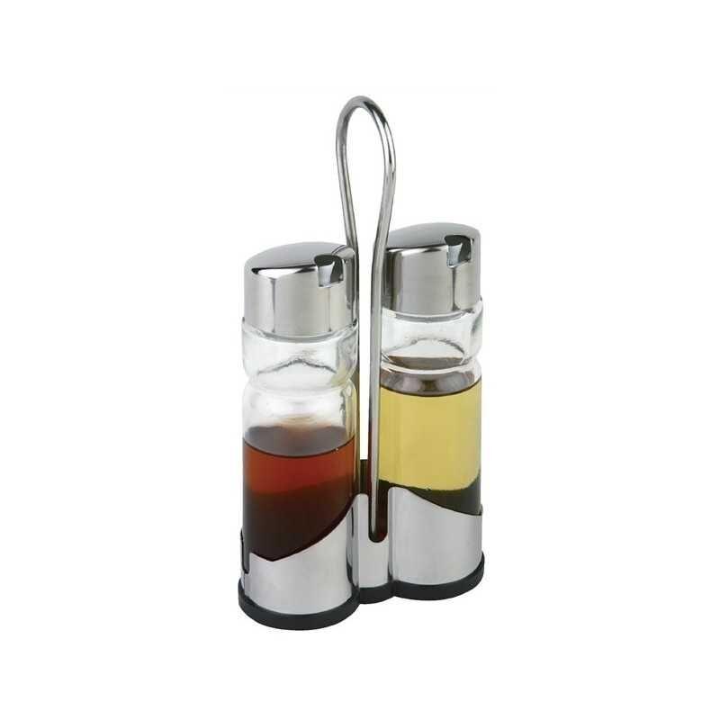 GASTROMASTRO Ménagère complète - Support APS - Huile + vinaigre